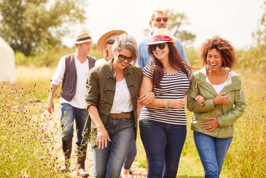 Marcher est bon pour la santé. © Monkey Business, Adobe Stock